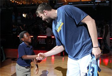 Marc and Pau Gasol help focus its resource on increasing healthy eating