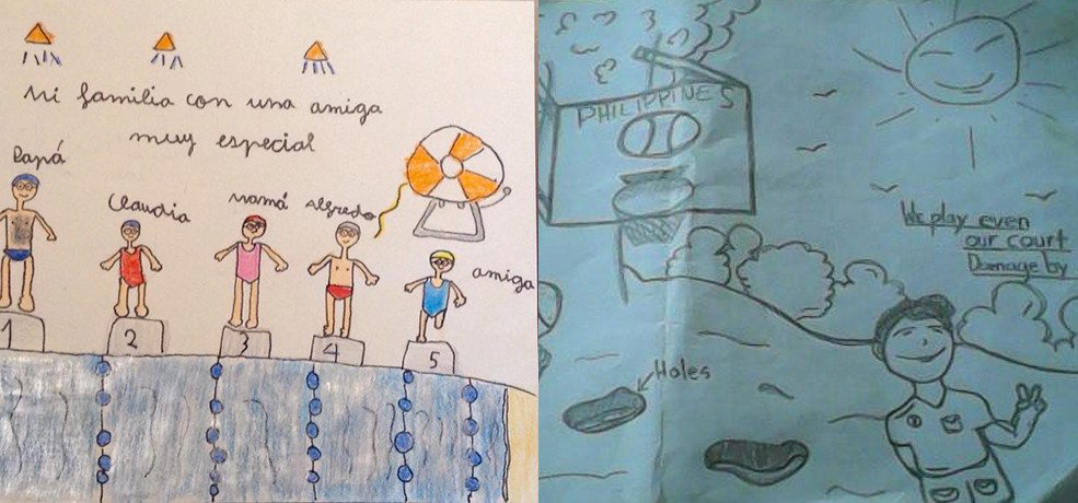 """Announcing the winners of Gasol Foundation's first Art Contest: """"Draw Your Favorite Sport"""""""