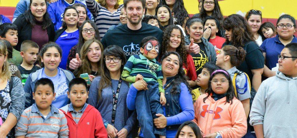 Gasol Foundation's Los Angeles Vida! Community Day was a Slam Dunk!