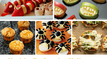 HEALTHY RECIPES FOR HALLOWEEN